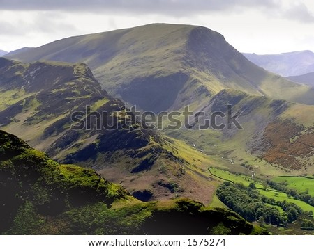 The Derwent Fells of the English Lake District - Shutterstock ID 1575274
