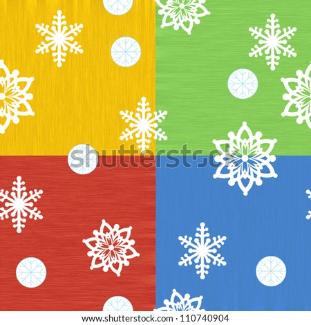 The design set of different christmas happy symbols 9