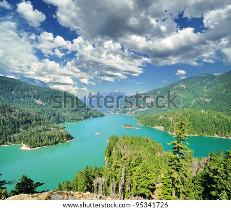 The Diablo Lake