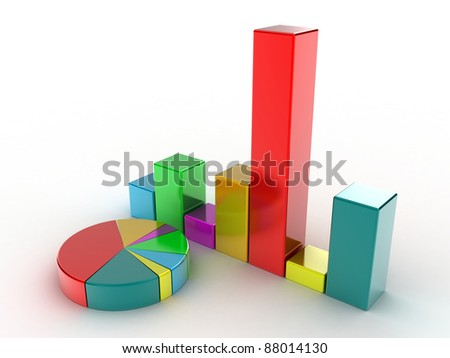 The diagramme which shows the statistical data
