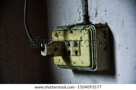 The dirty, dirty plug may be short-circuited.