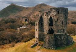 The Dolbadarn Castle ​in Llanberis, North Wales