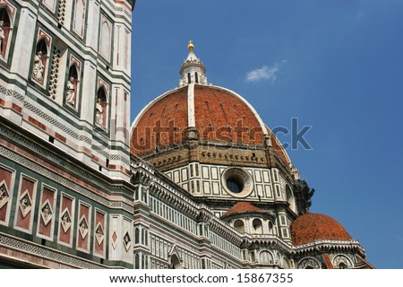 The dome of the Florence Duomo (Florence, Italy)