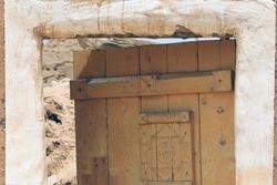The door of a Saudi heritage house
