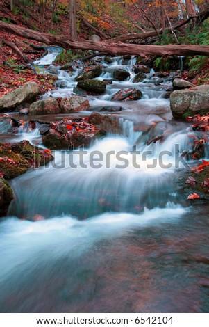 The Douglas Falls in Delaware Water Gap recreation area