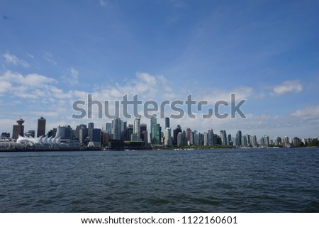 the downtown of vancouver