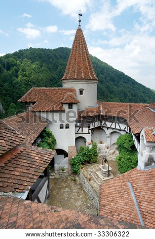 The Dracula Castle in Romania.
