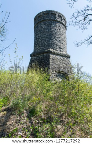 "The "" Dronketurm "" in the Eifel in germany #1277217292"