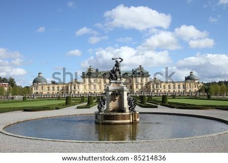 The Drottningholm Palace - stock photo