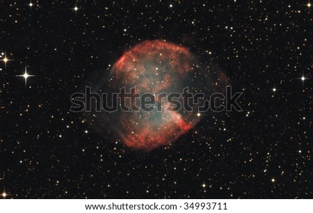 The Dumbbell Nebula M27