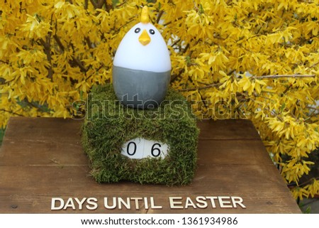 the easter countdown #1361934986