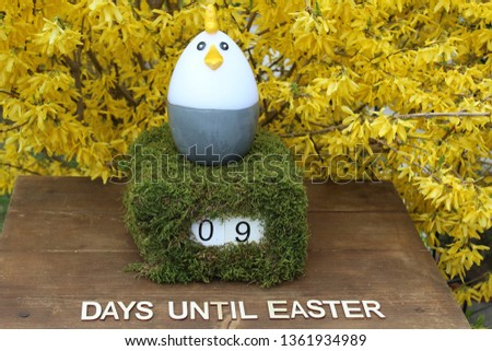 the easter countdown #1361934989