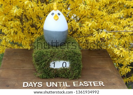 the easter countdown #1361934992