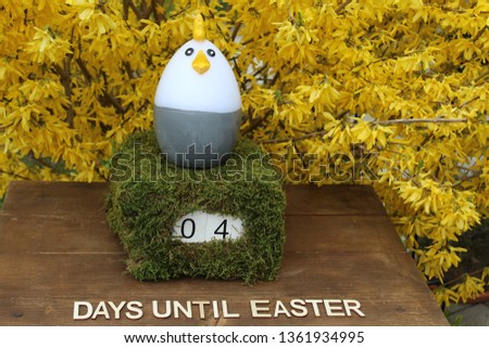 the easter countdown #1361934995