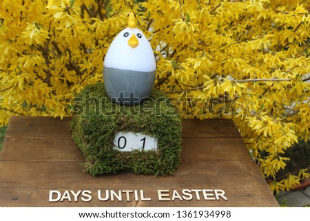 the easter countdown #1361934998