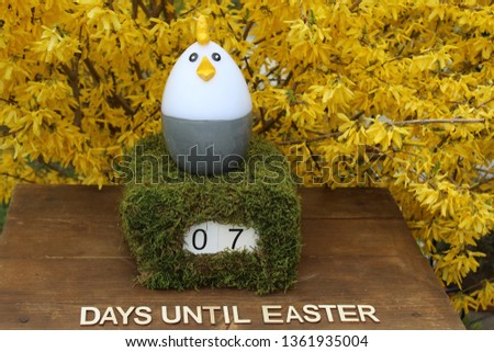 the easter countdown #1361935004