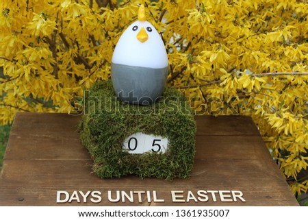 the easter countdown #1361935007