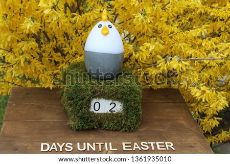 the easter countdown #1361935010