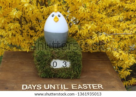 the easter countdown #1361935013