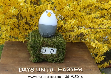 the easter countdown #1361935016