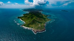 The easternmost point in the United States: Point Udall on the majestic island of St. Croix.