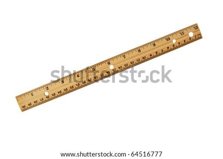 the eco wood ruler