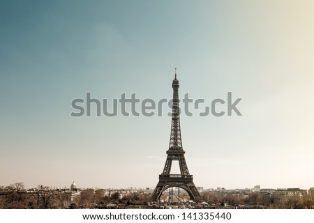 The Eiffel Tower nickname La dame de fer the iron lady The tower has become the most prominent symbol of both Paris and France