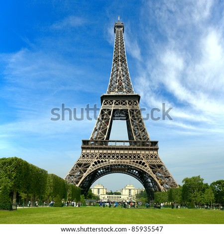 Paris France Eiffel Tower Pictures on The Eiffel Tower  Paris France Stock Photo 85935547   Shutterstock