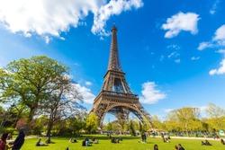 The Eiffel Tower, symbol of Paris.
