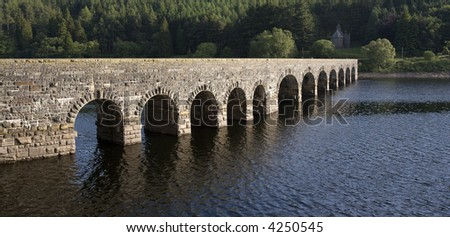 the elan valley cambrian mountains area of outstanding natural beauty powys wales the valley has dams and reservoirs which are used to provide the city of birmingham with a stable water supply