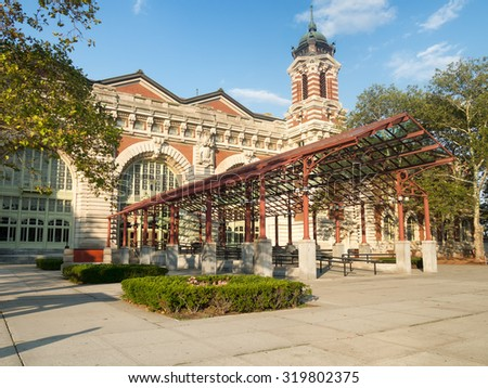 The Ellis Island Museum of Immigration in New York