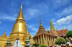 The Emerald Buddha Temple , Wat Pra Kaew or the Temple of the Emerald Buddha (officially known as Wat Phra Sri Rattana Satsadaram) is regarded as the most important Buddhist temple
