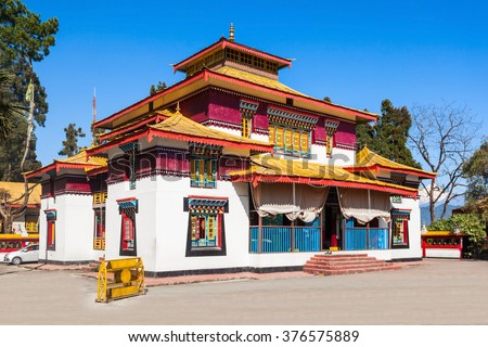the enchey monastery is a...