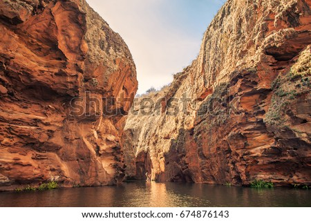 Shutterstock The entrance of gruta do talhado, Xingó Canyons