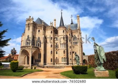 The Episcopal Palace, Modernisme edifice in Astorga
