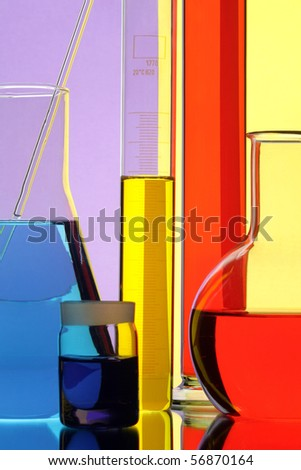 The equipment of chemical laboratory