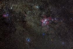 The Eta Carina Nebula taken in high quality