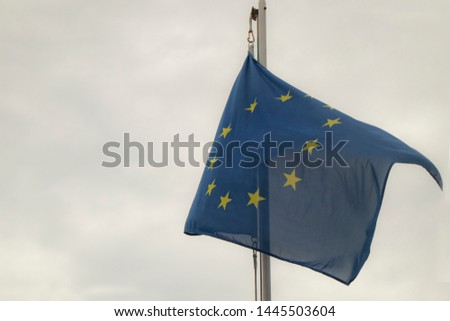 The European flag, European Union #1445503604