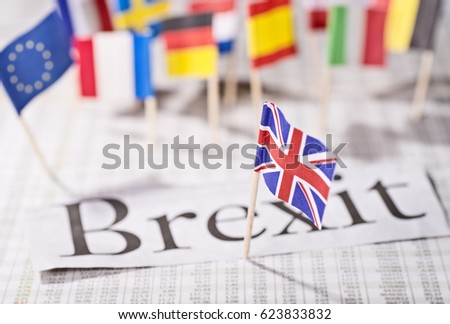 """The exit of Britain from the European Union, the """"Brexit"""""""