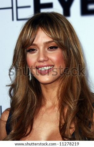 The Eye USA Premiere held at the Pacific Arclight Cinema. Jessica Alba