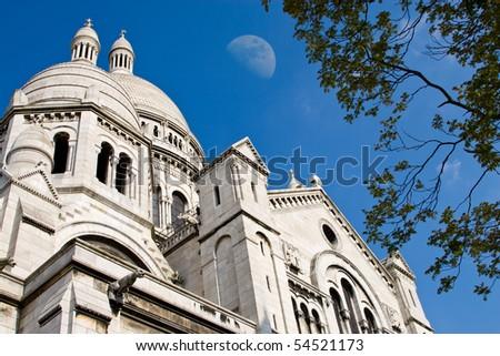 The famous Basilique of Sacre Coeur, Montmartre, Paris, France #54521173