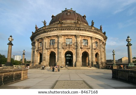 The famous Bode Museum in Berlin