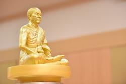 The famous Buddha statue of Phra Mongkhonthep Muni (Sod Chantasaro)