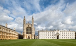 The famous King's College in Cambridge, UK