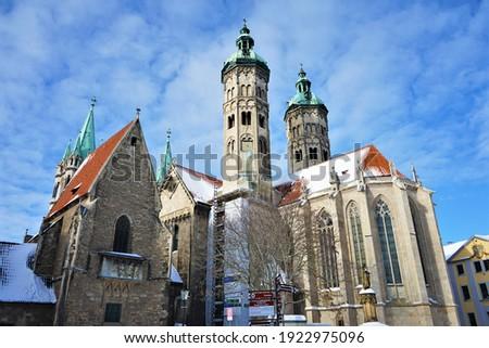 The famous Naumburger Dom in Naumburg, Germany. Stock fotó ©