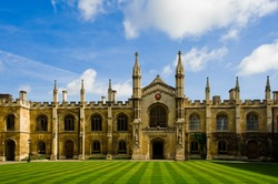 the famous scene that can be found in Cambridge University