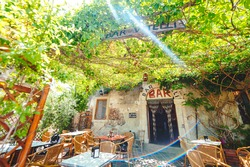 The famous Vitelli bar, where the moviemaker Francis Ford Coppola has shooted some scenes of