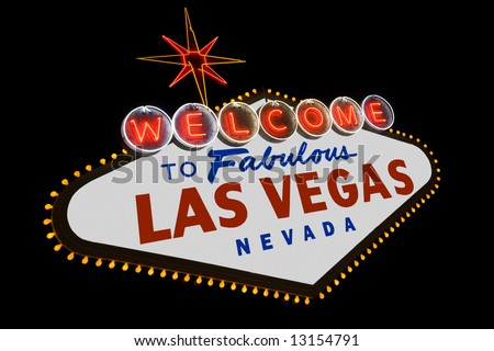 las vegas sign. to Fabulous Las Vegas sign