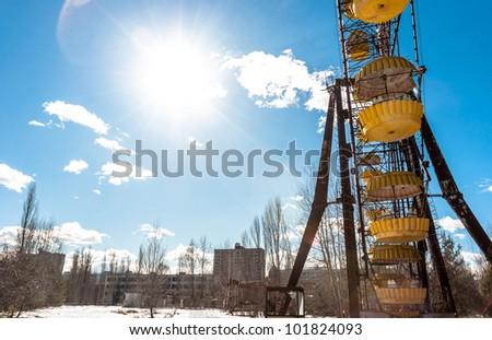The Ferris Wheel in Pripyat, Chernobyl 2012 March