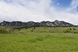 The first and second flat iron loop is a 4.3km hiking trail located in Boulder, Colorado.